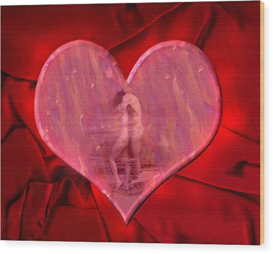 My Heart's Desire 2 Wood Print