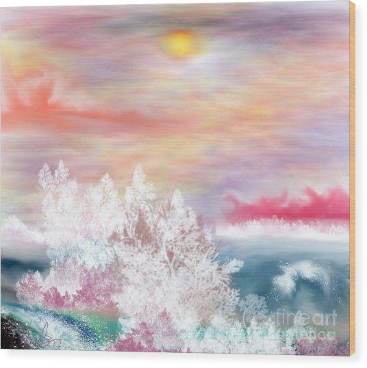 My Heaven Wood Print