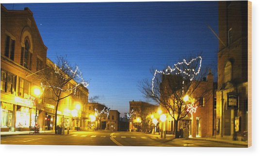 My Home Town 2 Wood Print by Will Boutin Photos