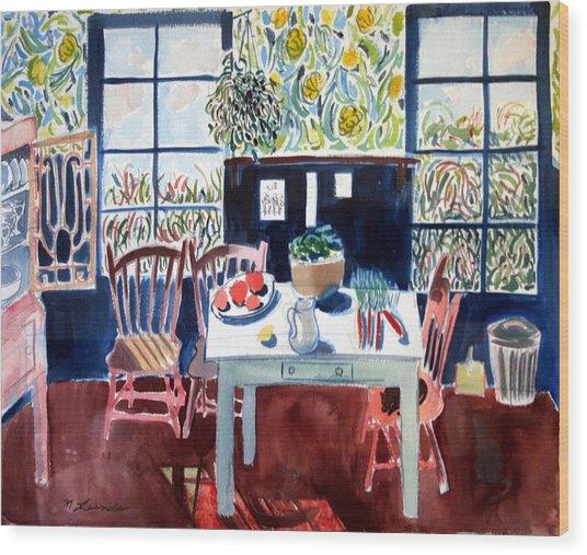 My Matisse Kitchen Wood Print