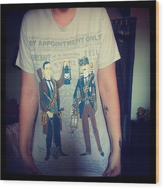 My New T-shirt (thanks To @pacy1988 & Wood Print