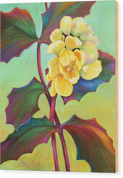 My Oregon Grape Wood Print