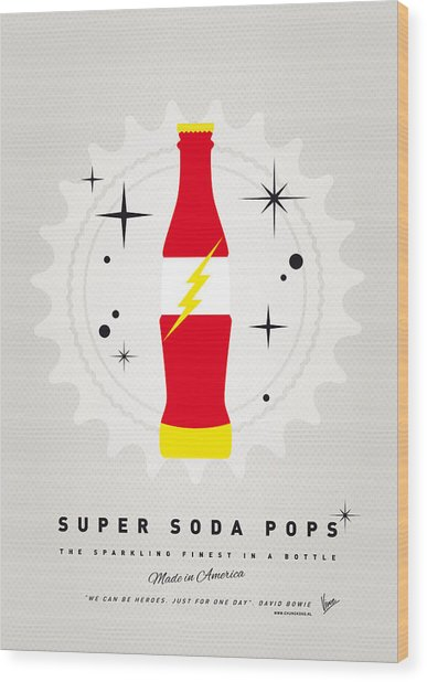 My Super Soda Pops No-18 Wood Print