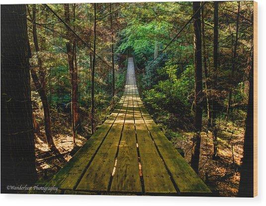 My Wanderlust Wood Print by Paul Herrmann