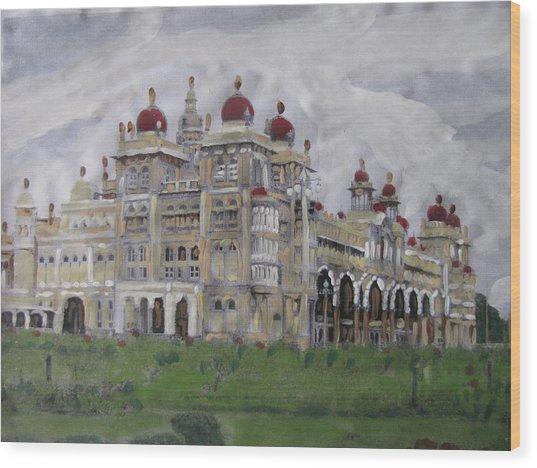 Mysore Palace Wood Print by Vikram Singh