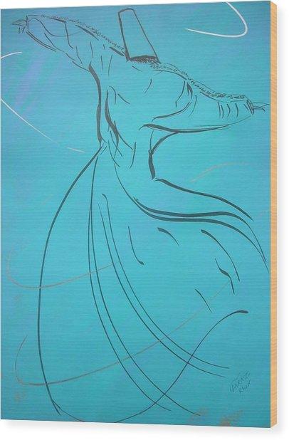 Mystic Dancer Parinda Wood Print