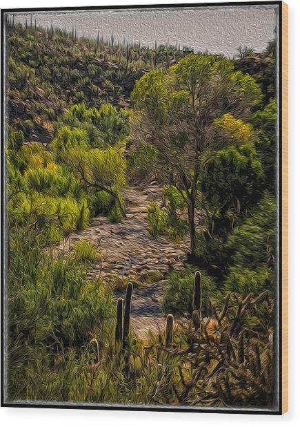 Mystic Wandering Wood Print