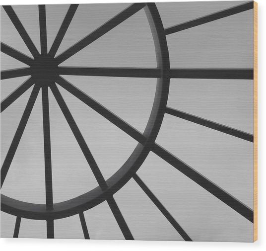 Mystic Wheel  Wood Print