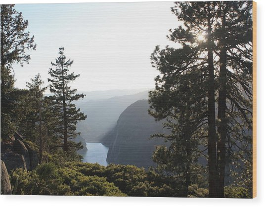 Mystical Land Wood Print