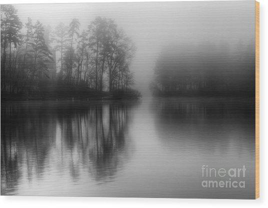 Mystical Morning Wood Print