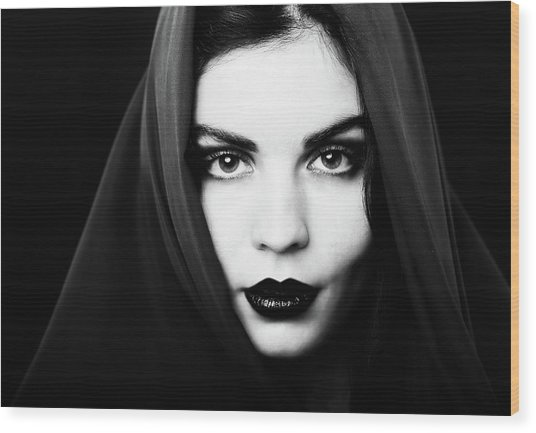 Nadia Wood Print