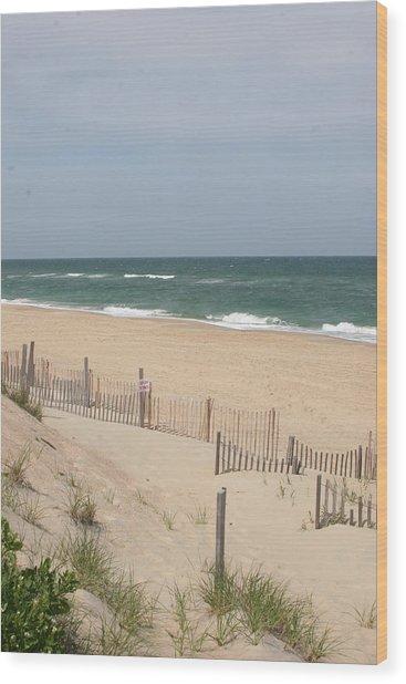Nags Head Beach Wood Print