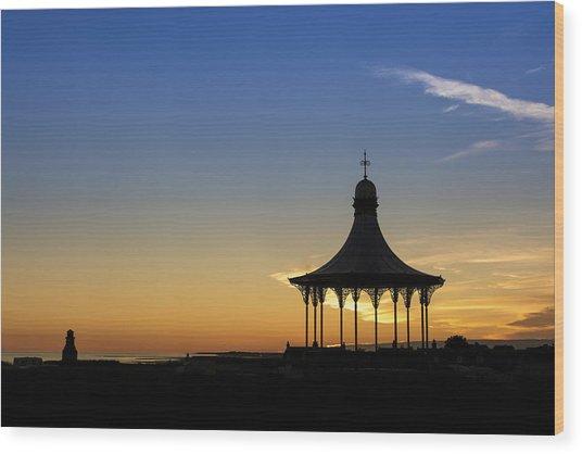 Nairn Bandstand Wood Print