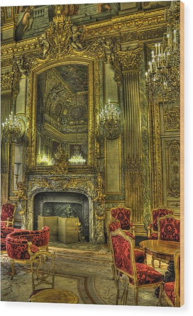 Napoleon IIi Room Wood Print