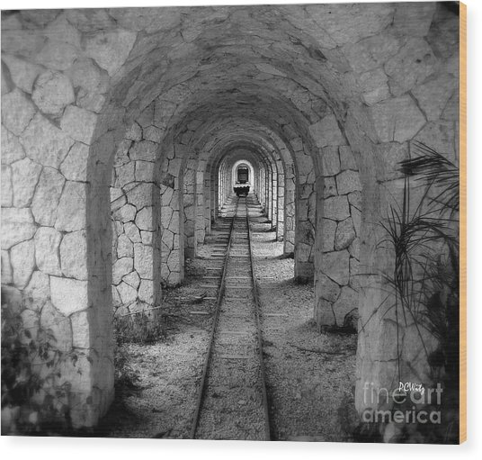 Arched Narrow Gauge Wood Print