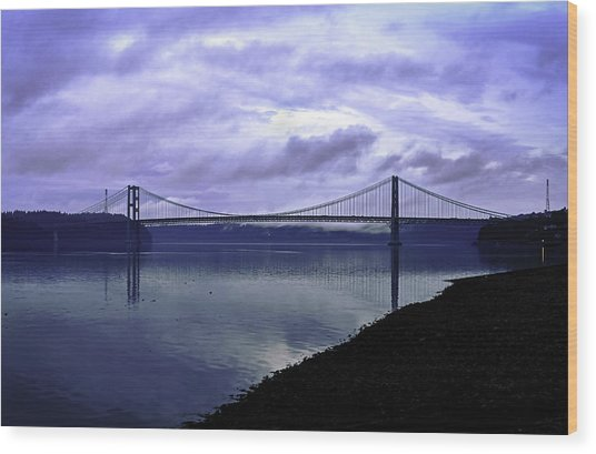 Narrows Bridge Wood Print