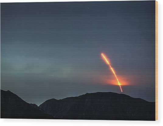 Nasas Insight Spacecraft Launches From Wood Print