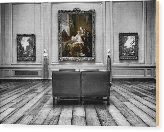 National Gallery Of Art Interiour 1 Wood Print by Frank Verreyken