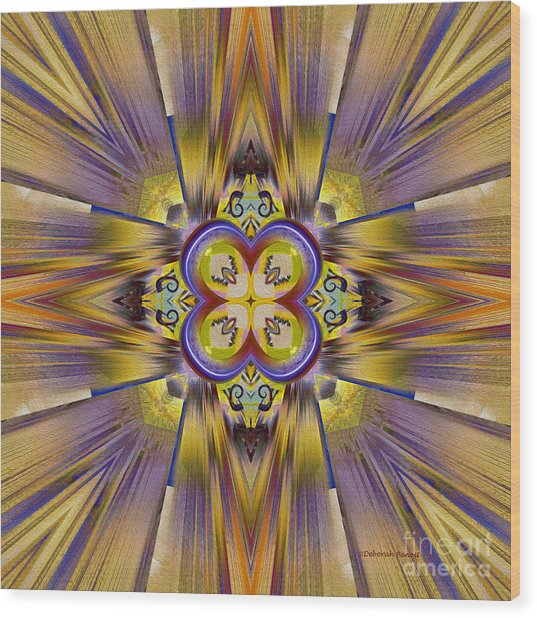Native American Spirit Wood Print