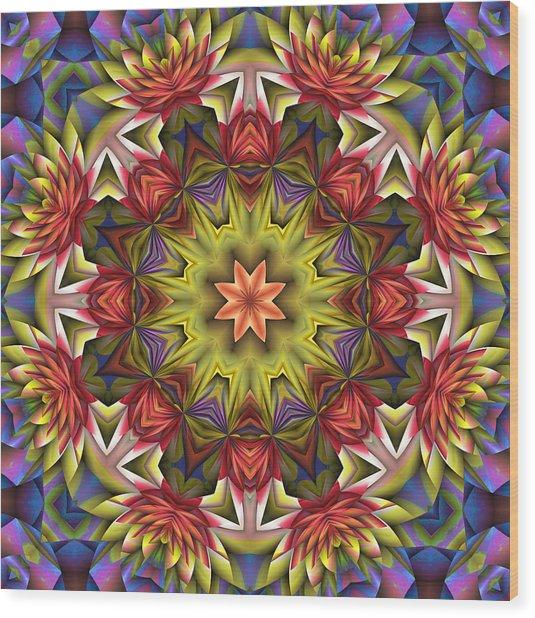 Natural Attributes 18 Square Wood Print