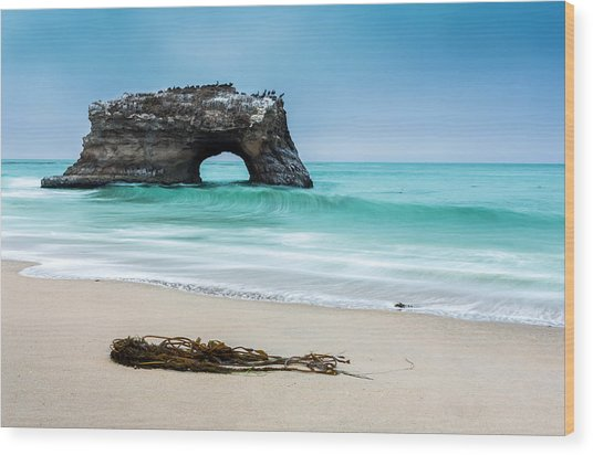Natural Bridges Wood Print