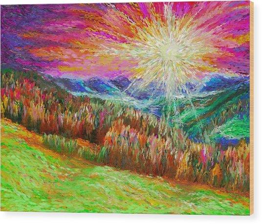 Nature 1  25 2015 Wood Print