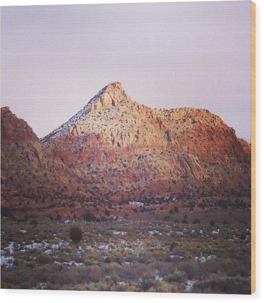 Navajo Winter Wood Print by Jake Harral