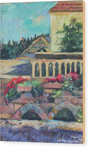 Nazareth Rooftops Wood Print
