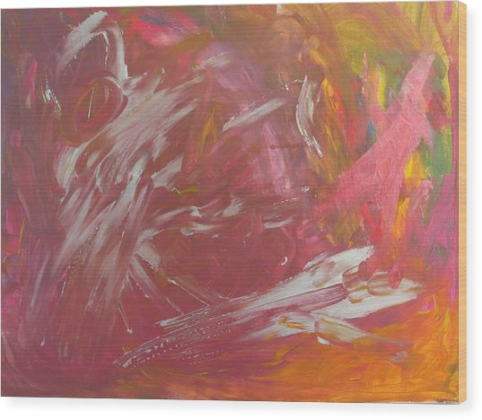 Nebula 320 Wood Print