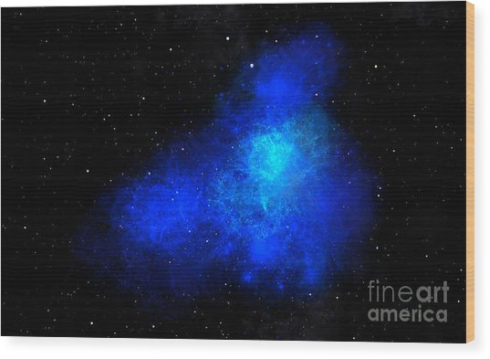 Nebula IIi Wood Print
