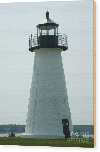 Ned's Point Lighthouse Wood Print