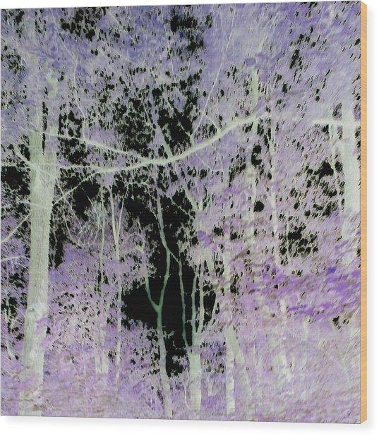 Negascape Wood Print