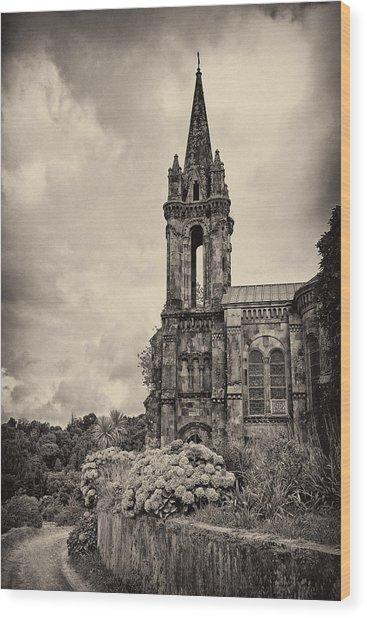 Neo Gothic Chapel Wood Print