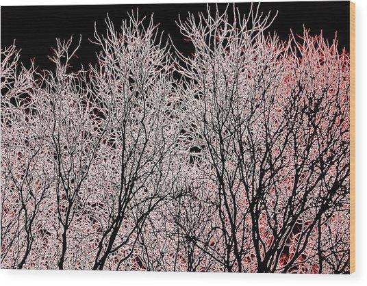 Neon Trees One Wood Print