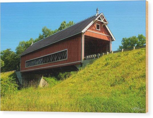Netcher Road Bridge Wood Print