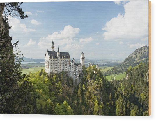 Neuschwanstein Castle Wood Print
