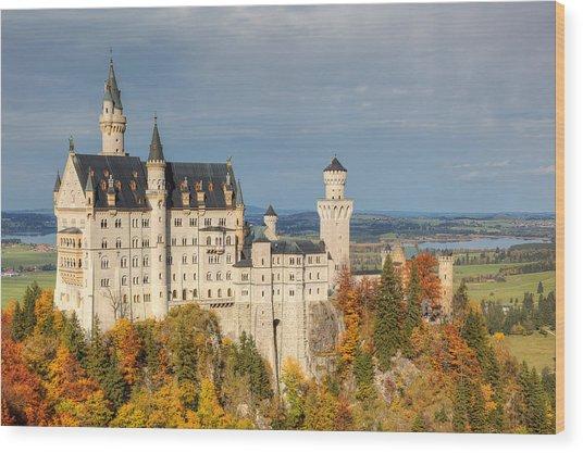 Neuschwanstein Wood Print by Marcel Kaiser