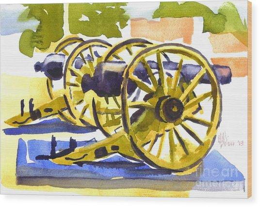 New Cannon Wood Print