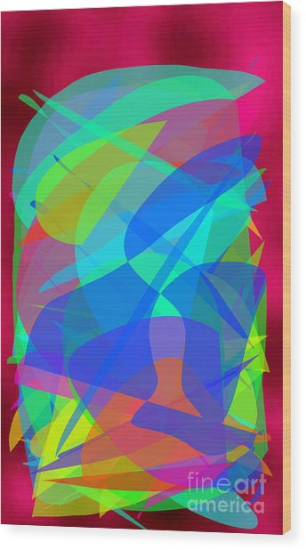 New Horizons II Wood Print