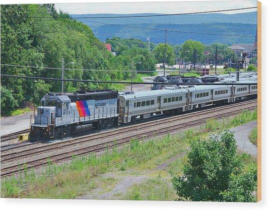 New Jersey Transit 4109 Wood Print