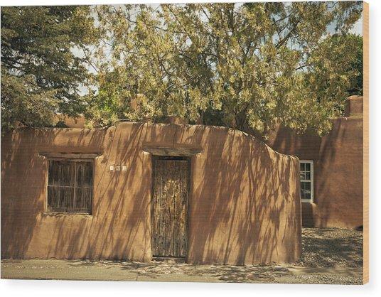 New Mexico Facade # 2 Wood Print
