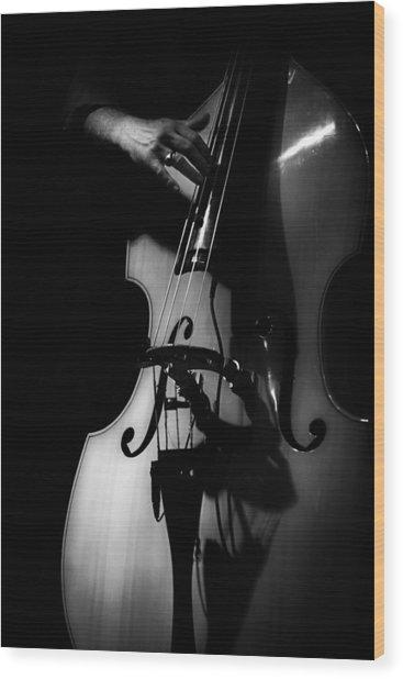 New Orleans Strings Wood Print