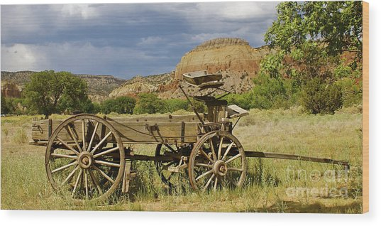 New Photographic Art Print For Sale Ghost Ranch New Mexico 13 Wood Print