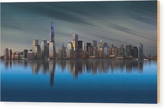New York World Trade Center 1 Wood Print