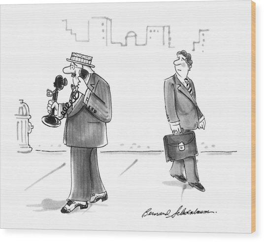 New Yorker April 19th, 1993 Wood Print