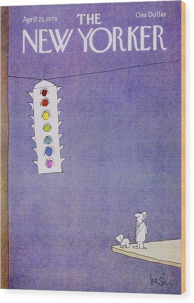 New Yorker April 23rd 1979 Wood Print