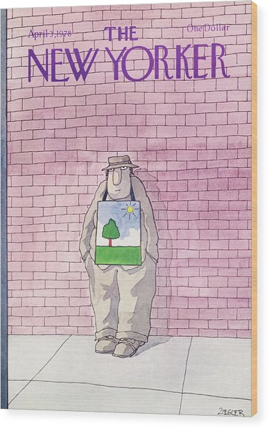 New Yorker April 3rd, 1978 Wood Print