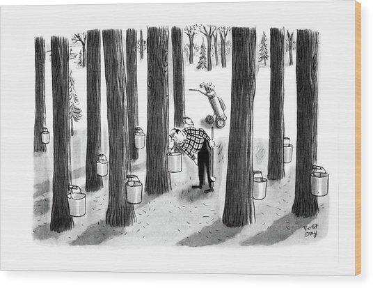 New Yorker April 7th, 1962 Wood Print
