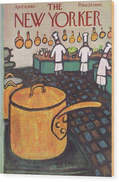 New Yorker April 9th, 1960 Wood Print