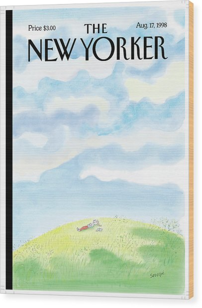 New Yorker August 17th, 1998 Wood Print
